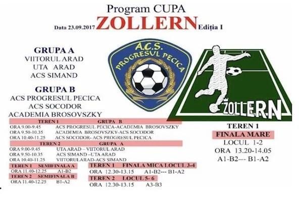 Sâmbătă, la Pecica are loc ediția I a Cupei Zollern pentru juniori