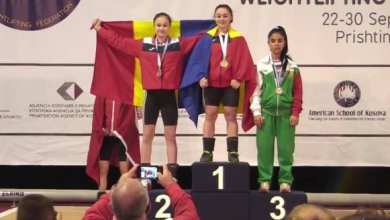 Photo of Halterofila Daniela Gărgar e dublă campioană europeană, Krupla a luat bronzul!