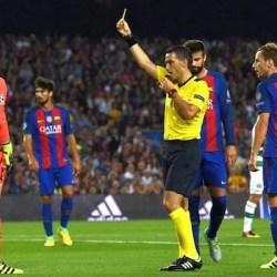"""Hațegan revine pe """"Camp Nou"""": arădeanul a fost delegat la duelul dintre FC Barcelona și Inter Milano"""
