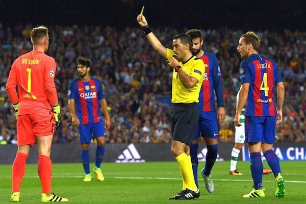 Hațegan îl fluieră din nou pe Messi
