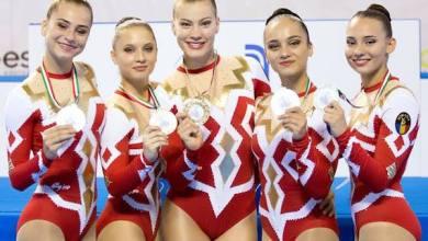 Photo of Arădencele Meszar și Morar sunt campioane europene la gimnastică aerobică junioare