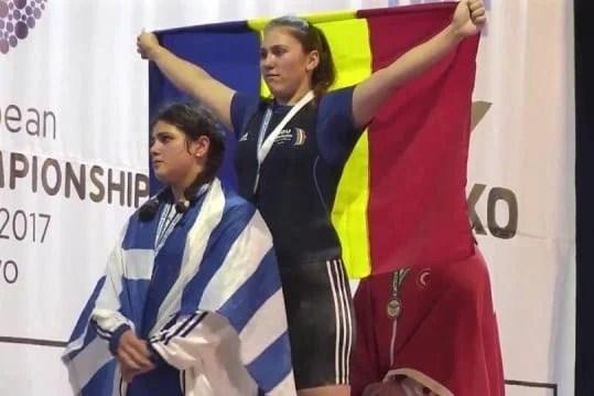 Halterele arădene au strălucit și la Prishtina: După Gărgar, și Condurache a devenit dublă campioană europeană
