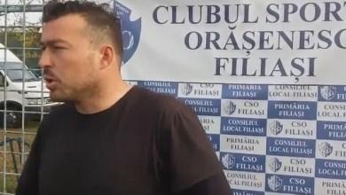 """Photo of Paşcalău a subliniat arbitrajul șmecheresc de la Filiași și: """"Am fi meritat cel puțin egal după ostilitățile din partea secundă"""""""
