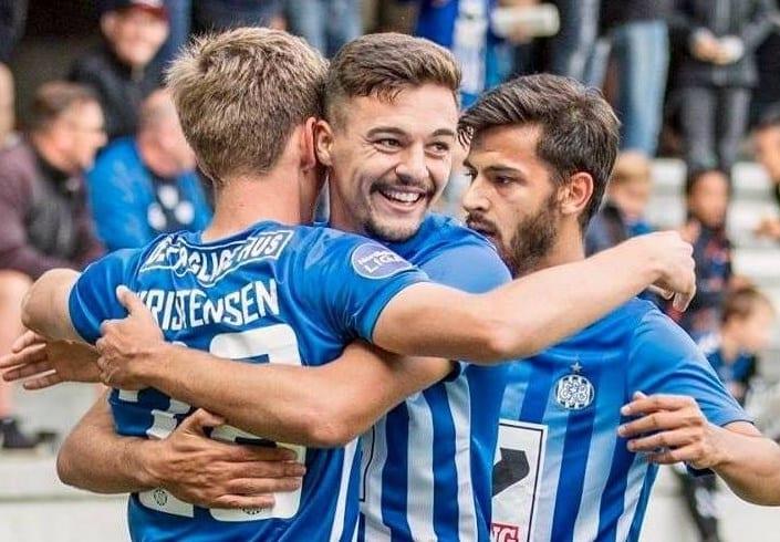 Petre a marcat cel de-al doilea său gol pentru Esbjerg exact în ziua derby-ului Poli – UTA