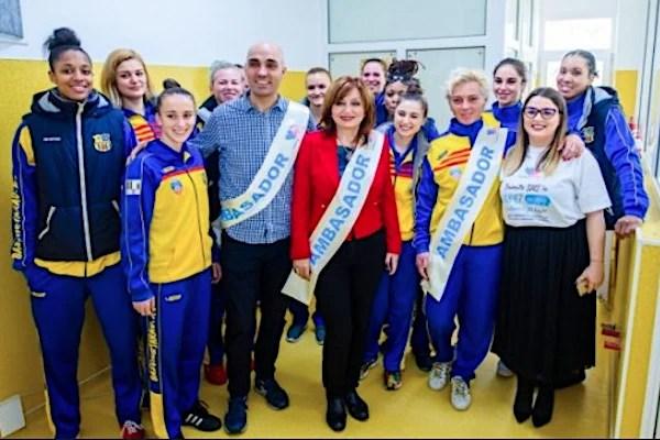 """FCC ICIM Arad, ambasador al campaniei """"Cu drag pentru viitor"""""""