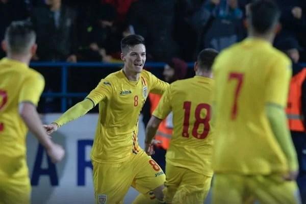 Assist pentru Dennis Man în victoria României  U 21 în Portugalia, după un meci de infarct