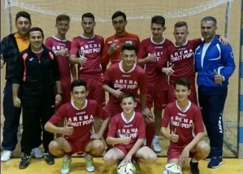 Șimandul a spulberat Timișoara și a urcat pe locul 2 în campionatul național Under 19 la futsal