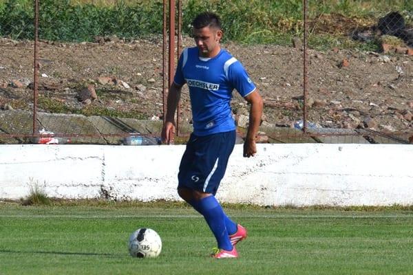"""Borteș se prezintă cu un gol în """"galben-albastru"""": Progresul Pecica – Unirea Sântana  2-0"""