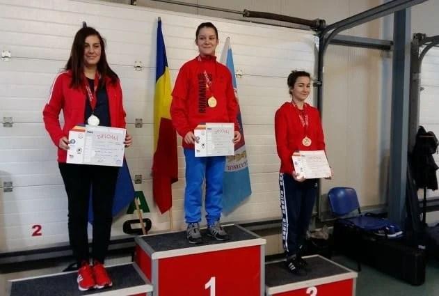 """Juniorii CSM-ului au țintit opt medalii la """"naționalele"""" de la Arad"""