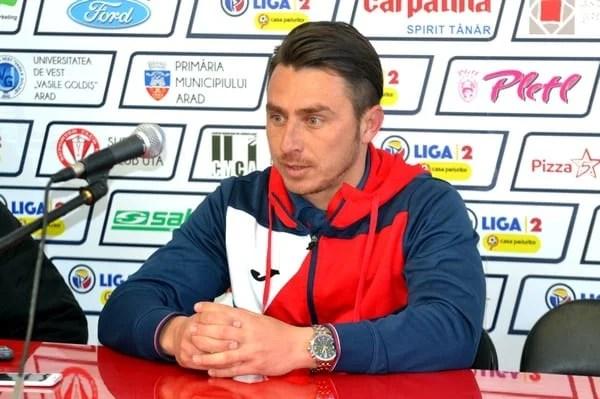 """Poenaru: """"Am controlat meciul cap-coadă, golurile au venit pe un fond de joc bun"""""""