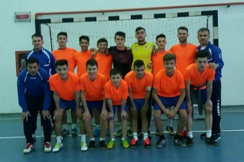 Pas hotărât spre turul patru al Cupei Under 19 de futsal: Șoimii Șimand – CS Universitar Pitești 10-4