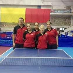 Fetele CSM-ului s-au calificat în semifinalele Superligii de tenis de masă!