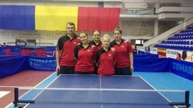 Photo of Fetele CSM-ului s-au calificat în semifinalele Superligii de tenis de masă!