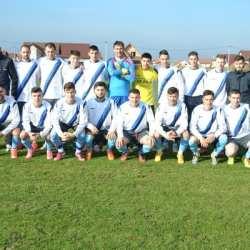 """Finalul s-a fluierat după penalty-ul lui Capătă, """"vameșii"""" - ca și retrași din campionat: Victoria Nădlac - Unirea Sântana  0-2"""