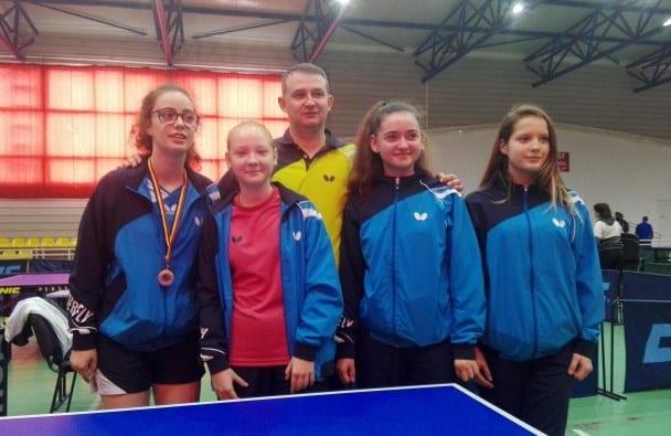 Junioarele CSM-ului intră în febra Cupei României la tenis de masă