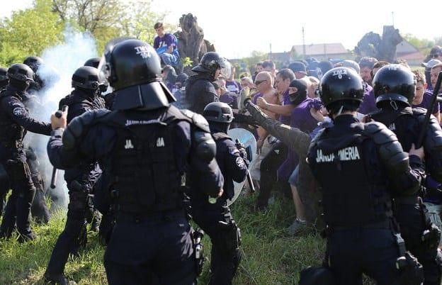 Jandarmii din Timișoara iau măsuri la UTA - U Cluj, deși riscul incidentelor pare scăzut după ultimele evenimente