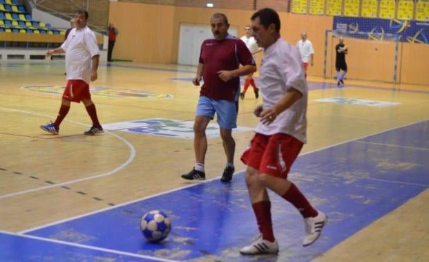 "Campionat județean de Old Boys la ""Arena Ionuț Popa"""