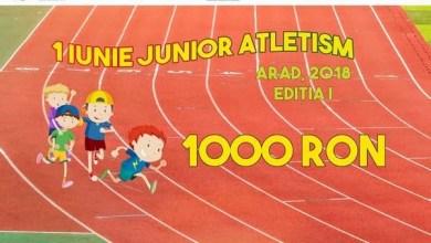 """Photo of Mai sunt două zile până la """"1 Iunie Junior Atletism""""! Vezi ce premii în bani îi așteaptă pe elevii participanți la concursul de pe """"Gloria"""""""