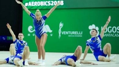 """Photo of """"Studentul"""" Bocșer – argint și bronz la """"mondialele"""" de aerobic din Portugalia"""