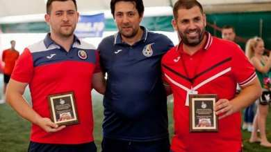 Photo of FC Premiere, AC Luciano și Șoimii Șimand luptă chiar la Arad pentru un loc în finala campionatului național de mini-fotbal