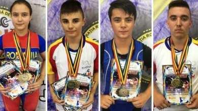 """Photo of Medalii prețioase pentru halterofilii AMEFA-ei la """"naționalele"""" Under 17"""