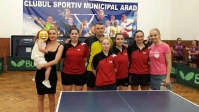 Photo of Fetele CSM-ului au cucerit bronzul Superligii naționale de tenis de masă!
