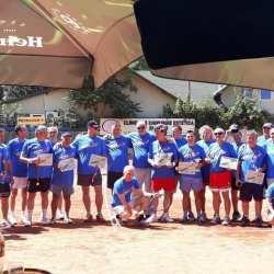 Cuplul Țârle - Iosif, câștigătorii celei de-a patra ediții (maraton) a Cupei Petro Red la tenis de câmp