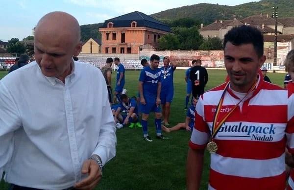 """Siminic, la primul trofeu cu Crișul: """"Colectivul, stabilitatea și seriozitatea, atuuri pentru rezultate bune și în Liga 3-a"""""""