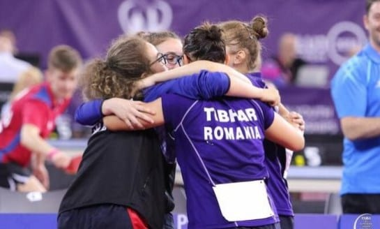 Tenis de masă: Irina Rus e campioană europeană cu echipa României de cadete