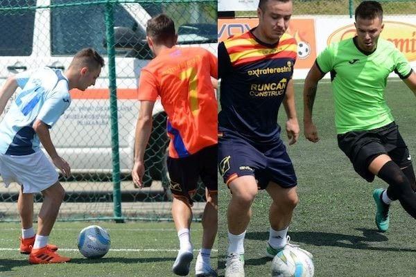 Premiere și Luciano și-au încheiat aventura la finala de mini-fotbal încă din faza grupelor