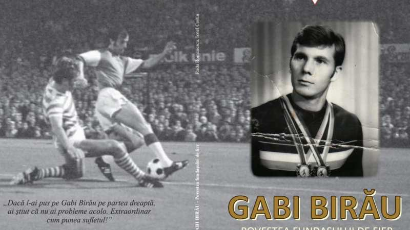 """Volumul """"Gabi Birău – povestea fundașului de fier"""" a văzut lumina tiparului la a 73-a aniversare a gloriei utiste"""