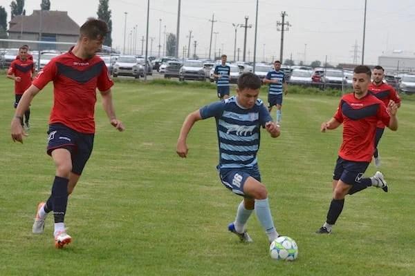 """Juniorii """"șoimilor"""" au făcut diferența la Graniță: Curtici – Lipova 0-2"""