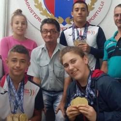 CSM-ul și-a făcut bilanțul pe 2018: Nouă medalii europene pentru gruparea arădeană, 8 cucerite de halterofilii lui Jigău și Sebeșan