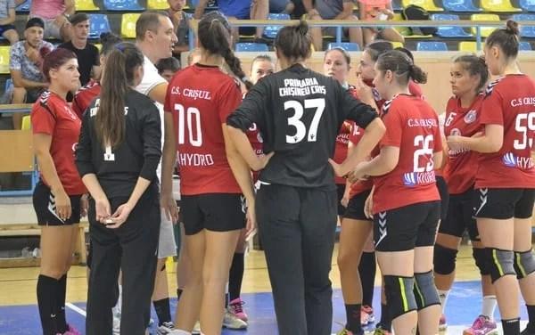Crișul Chișineu Criș și-a aflat adversarele din noul sezon al Diviziei A la handbal feminin