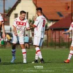 Antrenament cu public și la Under 17: UTA - Dacia Orăștie 10-0