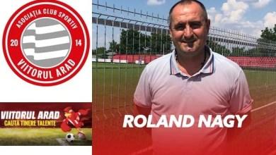 Photo of Roland Nagy e noul coordonator tehnic al celor de la Viitorul Arad