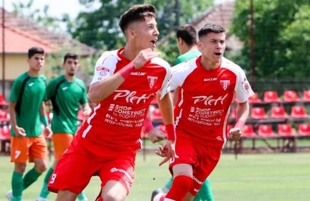 """Utistul Miculescu a adus victoria """"tricolorilor"""" Under 18 în Muntenegru"""