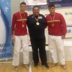 Judoka Nagy și Stana sunt campioni naționali de juniori în culorile lui Liberty