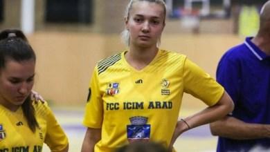 Photo of Teodora Neagu și antrenorul Miljan Medved reprezintă FCC ICIM la naționala României