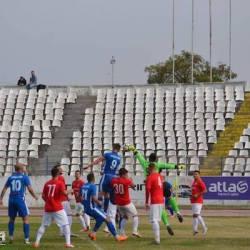 """""""Alb-albaștrii"""" au întors din nou rezultatul, dar au trebuit să se mulțumească cu un punct: Unirea Alba Iulia - Național Sebiș  2-2"""