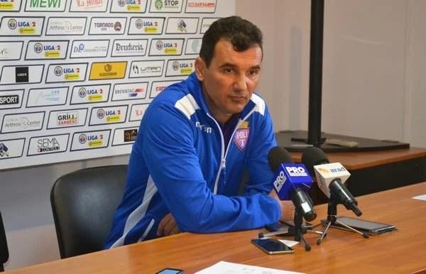 """Petruescu, după eșecul din derby: """"Am fost ușor copleșiți de importanța acestui joc, iar de aici am și avut unele scăpări"""""""