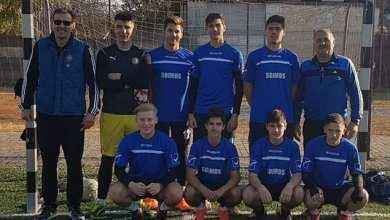 """Photo of Băieții Liceului """"Atanasie Marienescu"""" Lipova sunt campioni județeni la Olimpiada Naţională a Sportului Şcolar"""