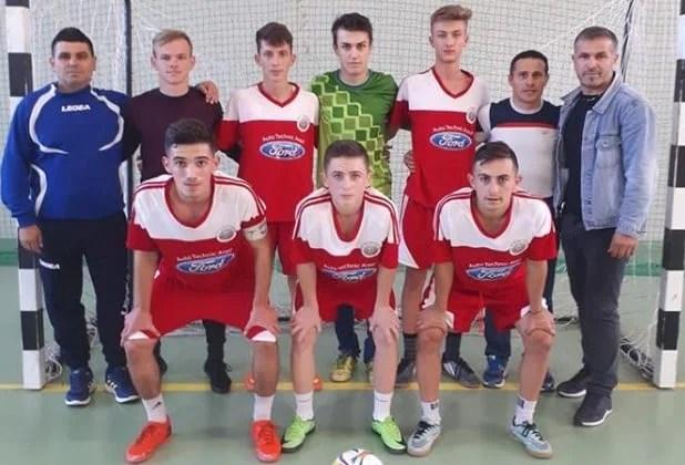 CN de Futsal Under 19: Șimandul încheie cu o înfrângere turul de campionat, dar își păstrează prima poziție