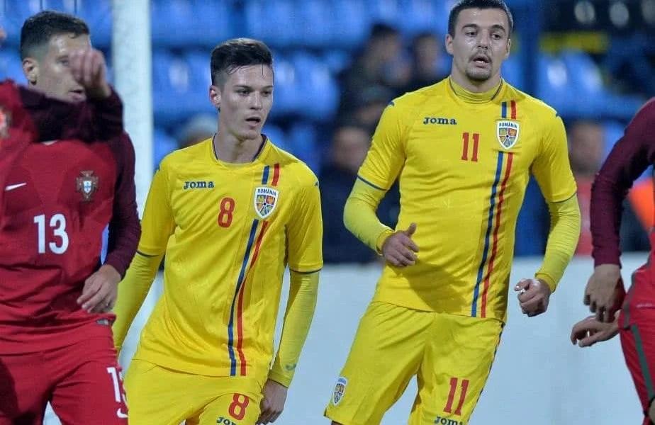 """Naționala Under 21 a României a făcut pasul final spre Euro 2021, arădenii Man și Petre pot scrie din nou istorie pentru """"tricolorii"""" mici"""