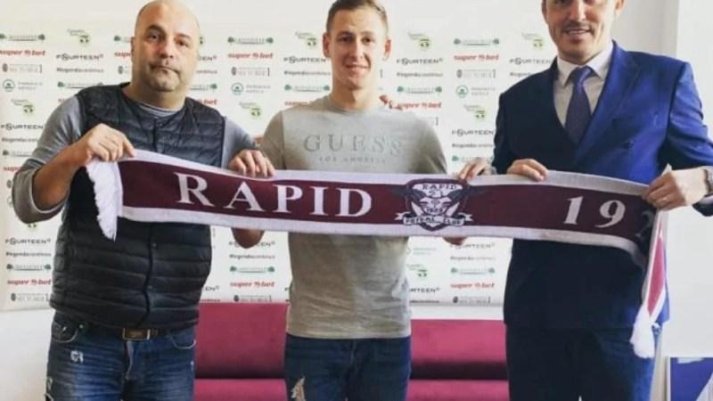 """Hlistei, lângă Jorza, la Rapid: """"Obișnuit cu presiunea de la UTA, sper ca în 2020 să jucăm din nou în Liga 1"""""""