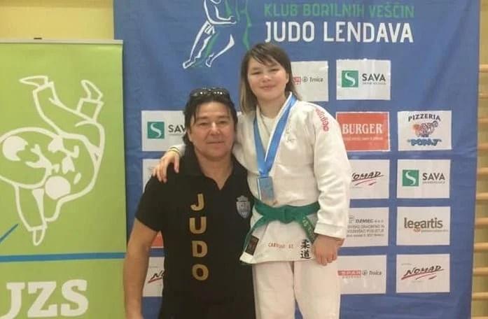 Carolina Szabo a strălucit în Slovenia: Jodoka arădeană - la primul aur în 2019