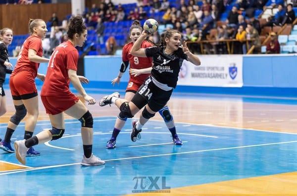 La înălțimea derby-ului în repriza secundă: CSM Târgu Mureș - Crișul Chișineu Criș 32-27