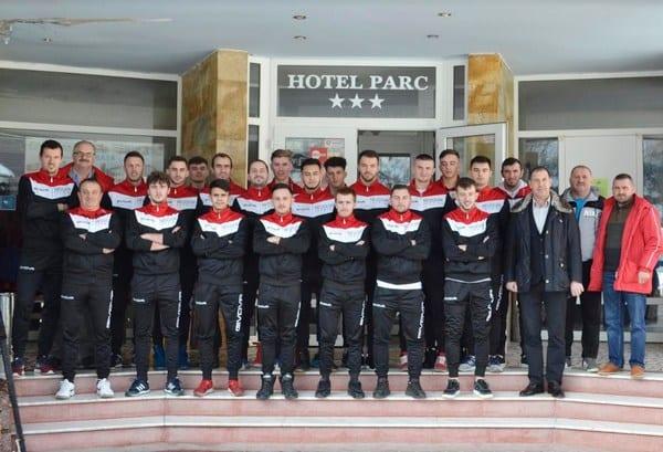 Zăbraniul a bătut Ineul în drum spre Moneasa, Pința se bazează pe 21 de fotbaliști în cantonament!