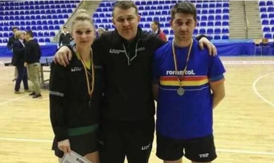 Familia Dodean a strălucit la Campionatele Naţionale de tenis de masă
