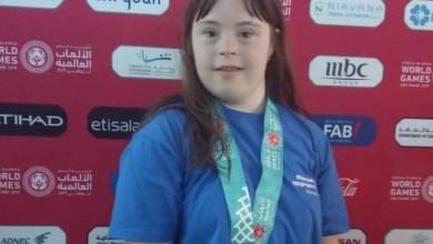Photo of Arădeanca Mara Oprea, locul 4 la 100m craul în cadrul Jocurilor Mondiale Special Olympics 2019
